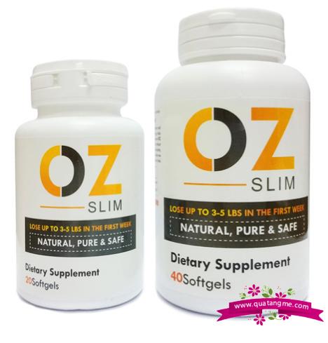 Oz Slim giải pháp giảm cân an toàn dành cho phái đẹp