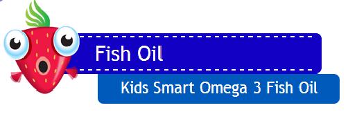 Kids smart omega3 fish oil- viên dầu cá dành cho trẻ